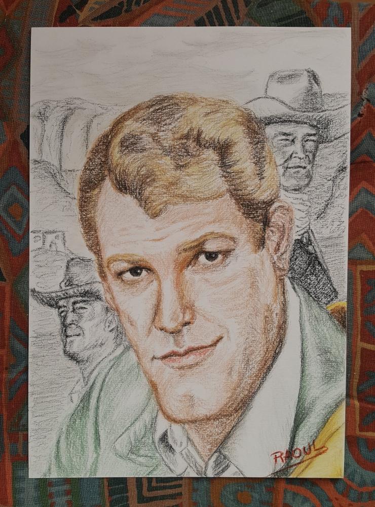 Earl Holliman por Raoul.G